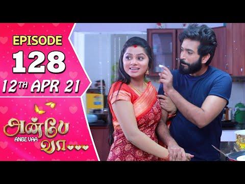 Anbe Vaa Serial | Episode 128 | 12th Apr 2021 | Virat | Delna Davis | Saregama TV Shows Tamil