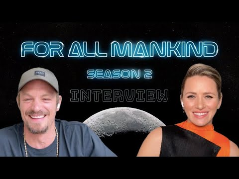 FOR ALL MANKIND interview – Joel Kinnaman & Shantel VanSanten