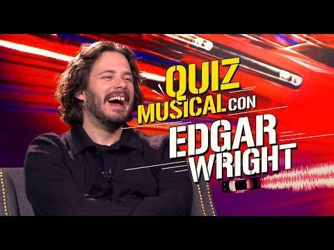 El director de Baby Driver, Edgar Wright, contesta preguntas hechas canción 🎼 🎤