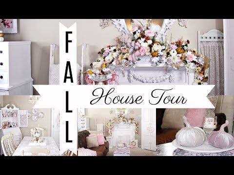 "🍁COZY FALL HOUSE TOUR / ""I LOVE FALL"" ep. 7 /GIVEAWAY!!🍁"