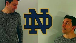 IS BRIAN KELLY CRAZY? / The True Notre Dame - Clemson Comparison