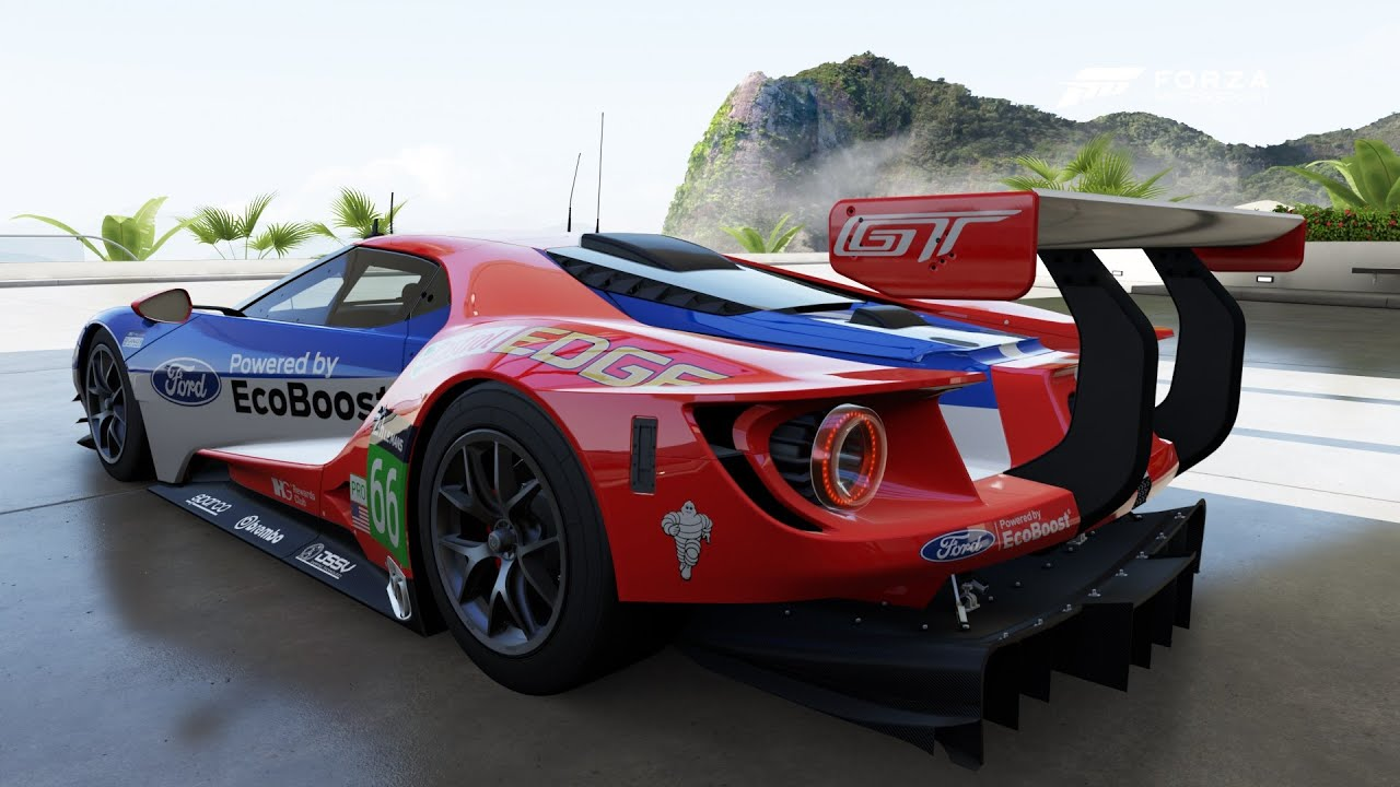 Forza motorsport 6 1080p 60fps 2016 66 ford racing gt le mans