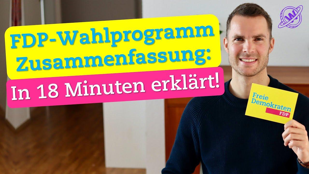 FDP-Wahlprogramm 2021: Zusammenfassung