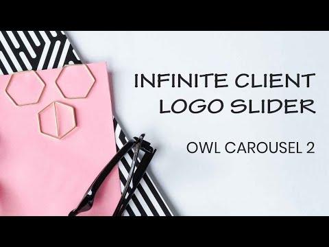 Brand Logo Slider Tutorial | Owl Carousel 2 Tutorial | Tutorial For Beginners
