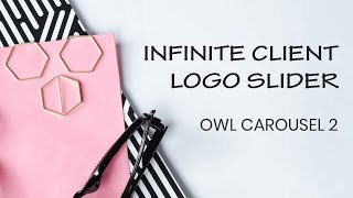 Brand Logo Slider tutorial | Owl Carousel 2 Tutorial | Tutorial for Beginners