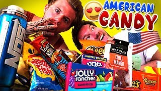 American Candy Challenge!