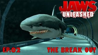 Let's Play Jaws Unleashed Ep.02 THE BREAK OUT