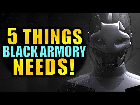Destiny 2: 5 Things the Black Armory DLC NEEDS to Have! thumbnail