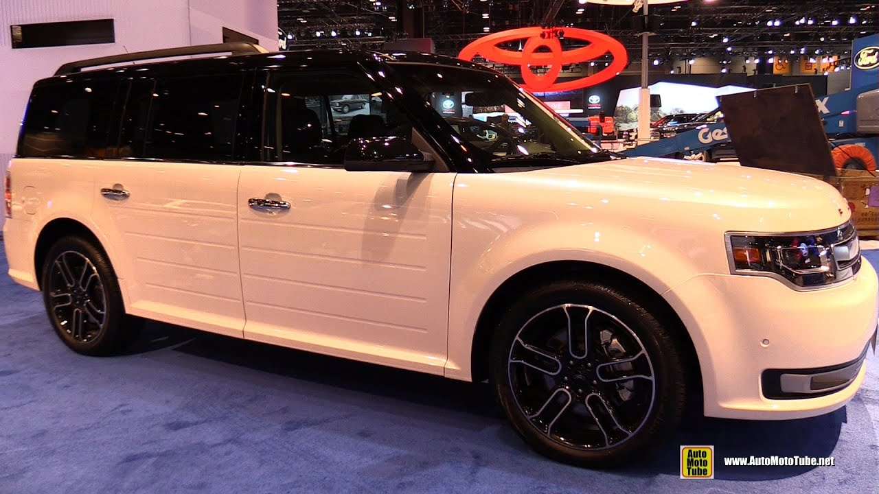 2015 ford flex limited exterior and interior walkaround 2015 chicago auto show
