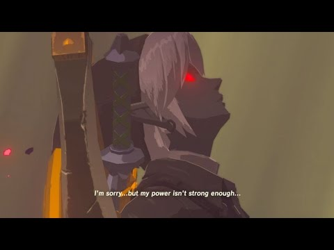 Zelda Breath Of The Wild Dark Link Exploring Hyrule Castle E18 Youtube