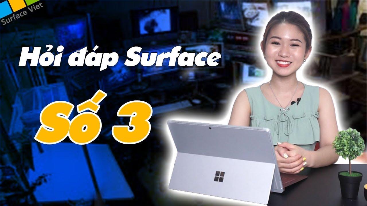 Hỏi đáp Surface số 3: Bút Surface Pen mới là bút cảm ứng nhanh nhất hành tinh?