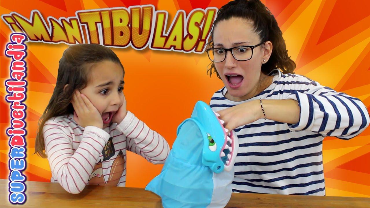 Mantibulas Juegos De Mesa Goliath Tiburon De Juguete