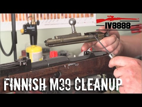Finnish M39 Disassembly and Full Cleanup