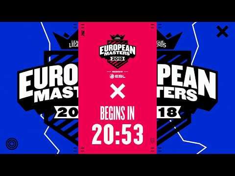 [🔴] European Masters Spring Split Group Stage 2018 - Tie Breakers