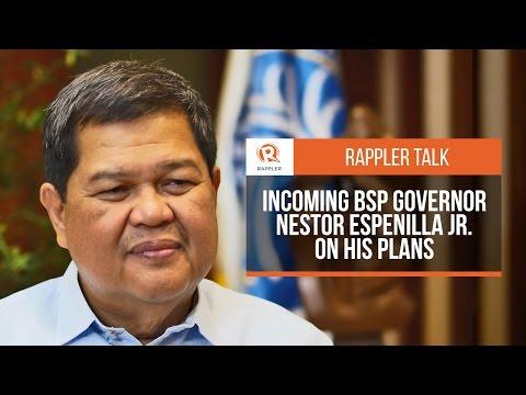 Rappler Talk: Incoming BSP Governor Nestor Espenilla on his plans