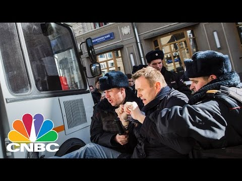 Russian Protests Biggest The Nation Has Seen In Years | CNBC