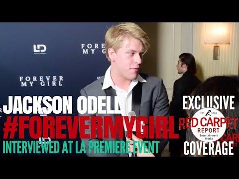 Jackson O'Dell ed at the LA Premiere of