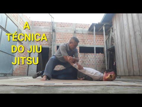 TROVÃO TREZE - TÉCNICA DO JIU JITSU