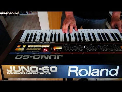 "Roland Juno-60 Analog Synthesizer + TR-808  ""Wrong Way"""