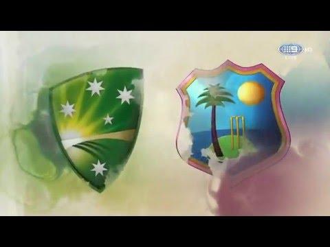 Channel 9 Cricket intro 2015/16 Australia v West Indies Test Match