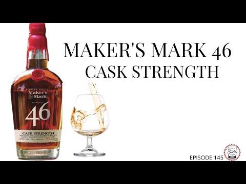 Download Episode 145: Maker's 46 Cask Strength - How does it compare to regular Maker's 46?