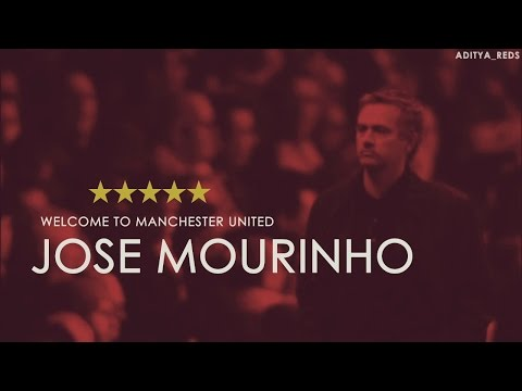 Welcome to Manchester United - Jose Mourinho by @aditya_reds