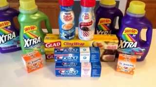 11/11-  awesome deals at Walgreens.....cheap laundry detergent, Crest toothpaste, & aspirins....