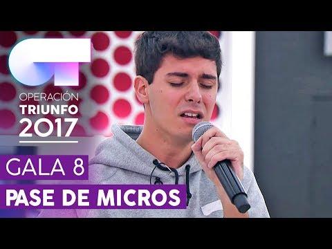 VETE DE MÍ - Alfred | Primer pase de micros para la Gala 8 | OT 2017