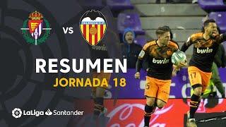 Resumen de Real Valladolid vs Valencia CF (1-1)