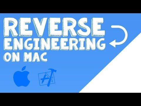 Simple Reverse Engineering On Mac