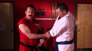 Two Hand Wrist Grab Defense