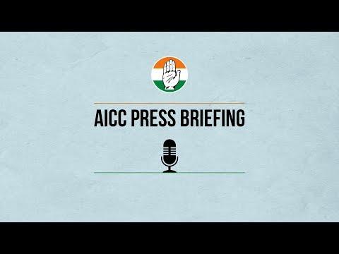 LIVE: AICC Press Briefing By Pawan Khera at Congress HQ