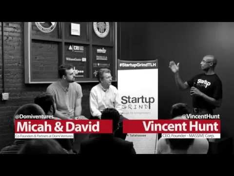 Micah Widen & David Lawson (Domi Ventures) at Startup Grind Tallahassee