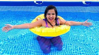 شفا سبحت في المسبح !! play happy swimmer