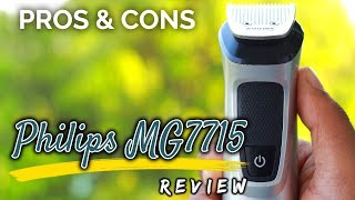 Philips MG7715 Multi-grooming 13 in 1 Kit [Review + Pros & Cons] | Best VFM trimmer in India ?