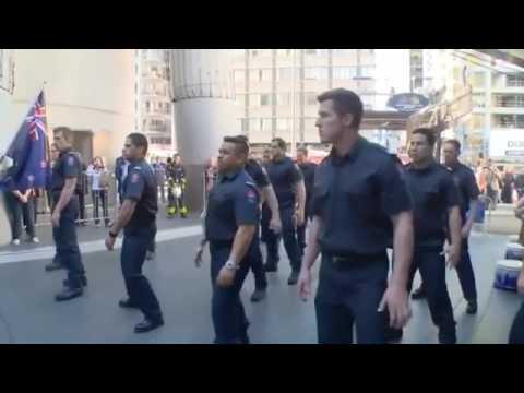 new Zealand Firefighters - haka (kamate)