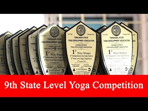 9th State Level Yoga Competition
