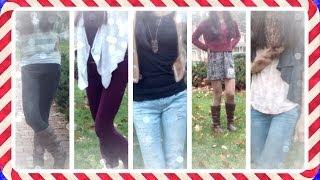 Winter OOTW : December 2-6 | Outfits of the Week