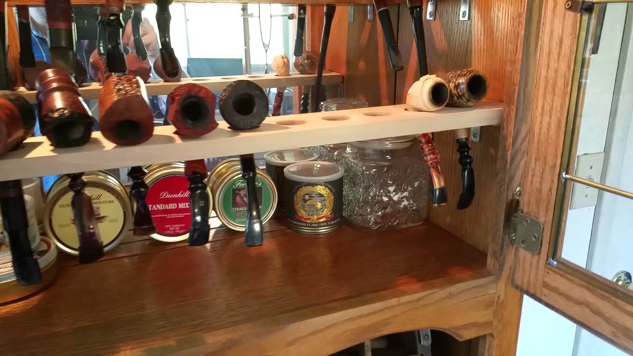 Pipe Smoking: Pipe Cabinet Progress.