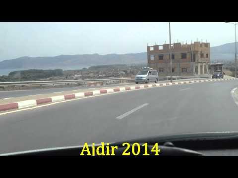 Film La Route Al hoceima, Calabonita, Ajdir, Tarik à Sahili, Temsaman, HD 2014