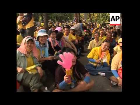 WRAP Thai parliament postpones session as protesters surround building