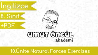 İngilizce   8.Sınıf   10.Ünite   Natural Forces   Exercises   +PDF