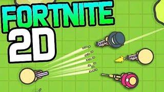 FORTNITE EN 2D ! | Zombs Royale