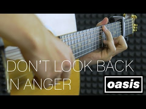 Oasis - Don't Look Back In Anger - Fingerstyle Guitar Cover by James Bartholomew