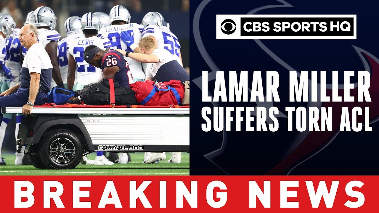 Texans reportedly fear torn ACL for Lamar Miller after nasty hit vs. Cowboys