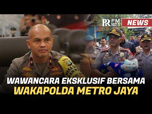 Wakapolda Metro Jaya Bicara Premanisme hingga Kisah Menjadi Polisi
