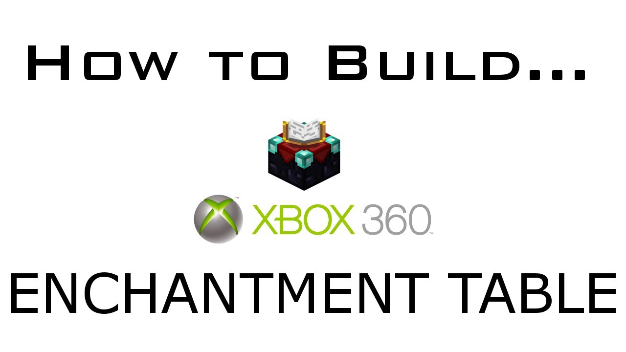 minecraft xbox 360 how to build an enchantment table  u0026 xp is here    12  19  2012