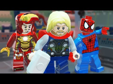 Lego Marvel Super Heroes | MODOK AND DOCTOR DOOM! | Lego Marvel Super Heroes Gameplay Part 9