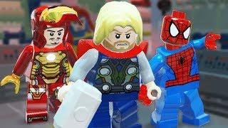 Lego Marvel Super Heroes | MODOK AND DOCTOR DOOM! | Lego Marvel Super Heroes Gameplay Part 9