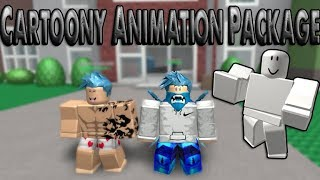 Roblox - Cartoony Animation Package ⟪ Natural Disaster Survival ⟫